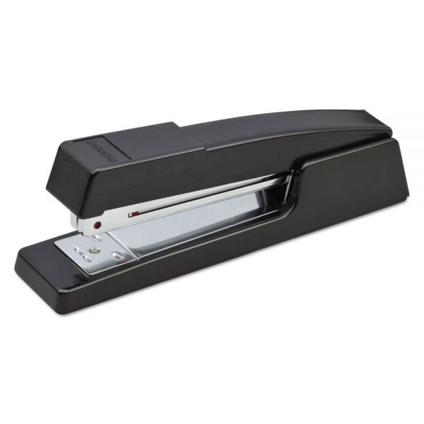 Bostitch B400 Executive Half Strip Stapler, 20-Sheet Capacity, Black