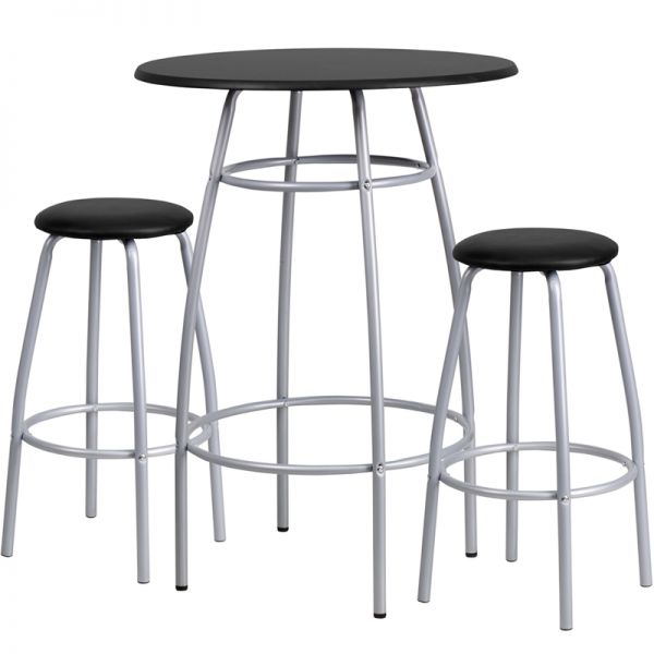 Flash Furniture Bar Height Table and Stool Set