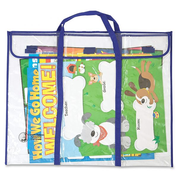 Bulletin Board Expandable Storage Bag