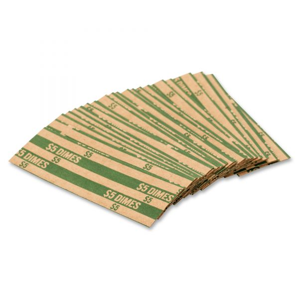 Coin-Tainer Co Flat Dime Coin Wrappers