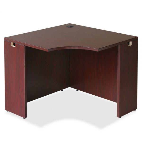 Lorell Essentials Series Corner Office Desk