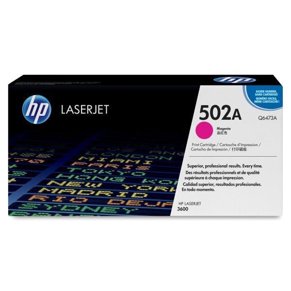 HP 502A Magenta Toner Cartridge (Q6473A)