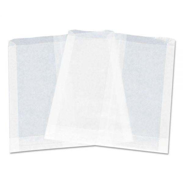 "Dixie Pouchless Maret Sandwich Bag, Paper, 7"" x 6"", White, 1000/PK, 6 PK/CT"