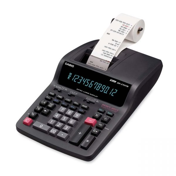 Casio DR-270TM Desktop Printing Calculator