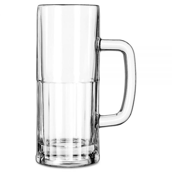 Libbey 22 oz Glass Mugs