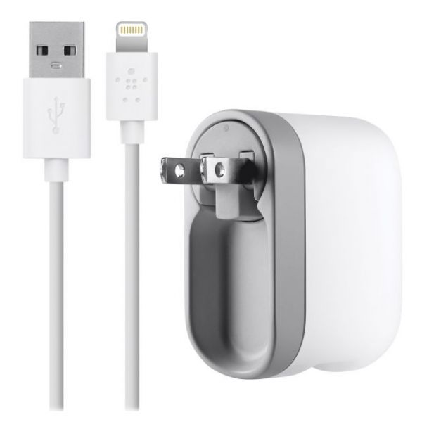 Belkin AC Swivel Lightning Cable iPhone 5 Charger