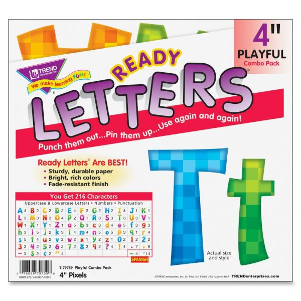 Trend Pixels Playful Combo Uppercase/Lowercase Ready Letters