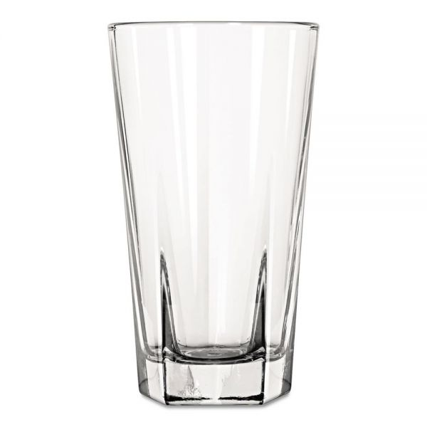 Libbey Inverness 12 oz Glass Tumblers