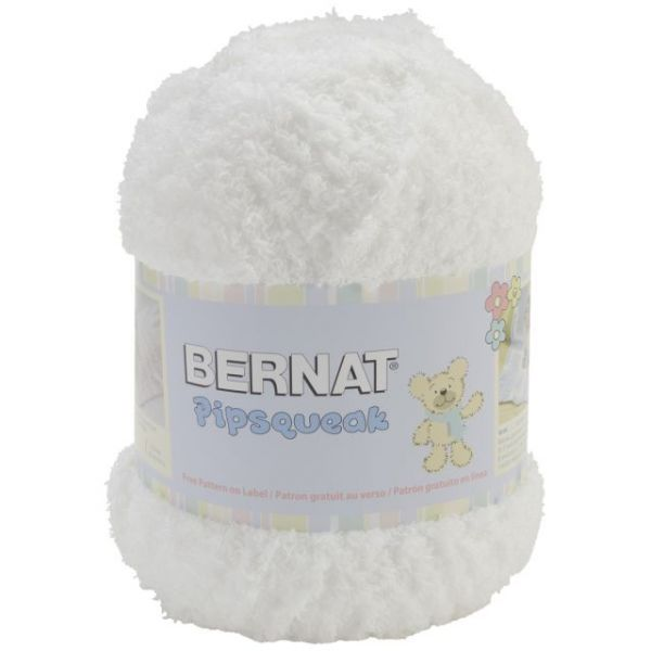 Bernat Pipsqueak Big Ball Yarn - Whitey White