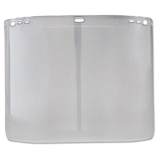 "Jackson Safety* F20 Face Shield Window, 15 1/2"" x 8"", Polycarbonate, Unbound"