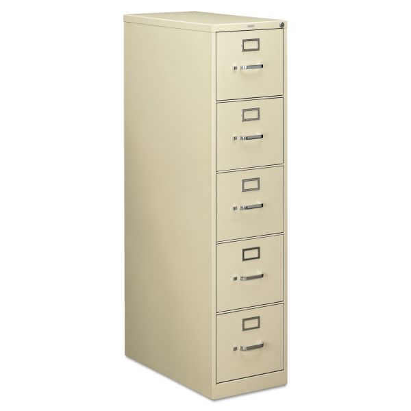 HON 210 Series 5 Drawer Vertical File Cabinet