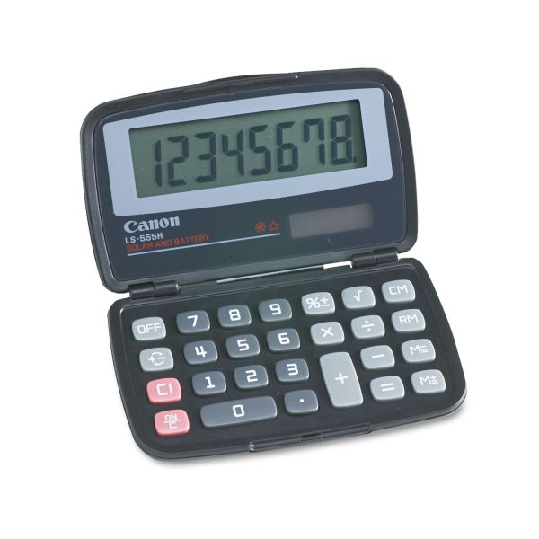 Canon LS555H Handheld Foldable Pocket Calculator
