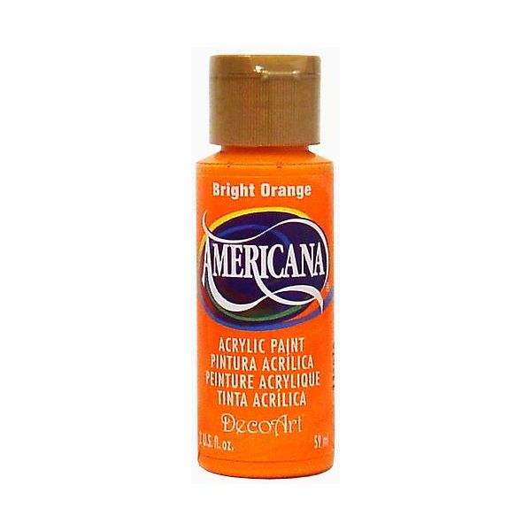 Deco Art Americana Bright Orange Acrylic Paint