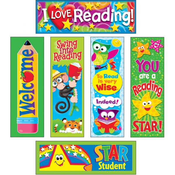 Trend Celebrate Reading Bookmarks Variety Pack