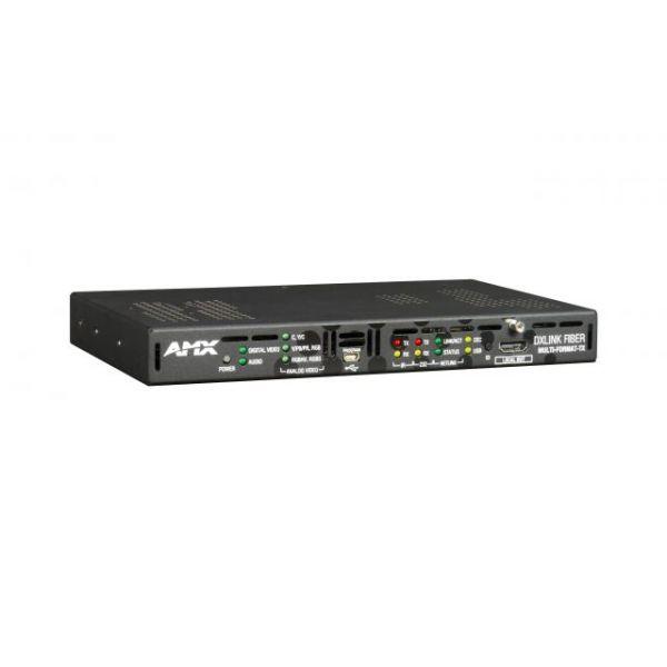 AMX DXLF-MFTX-MM-D DXLink™ Multi-Format Multimode Fiber Transmitter, Duplex
