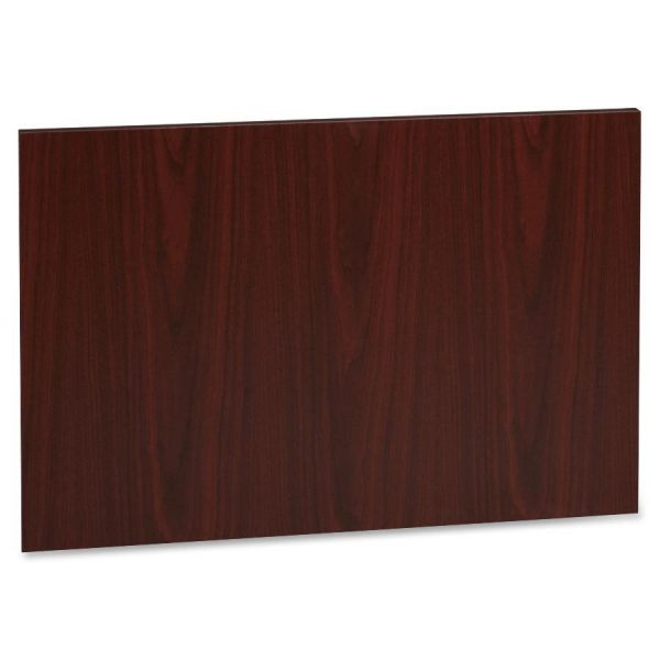 Lorell Accent Series Mahogany Laminate Modesty Panel