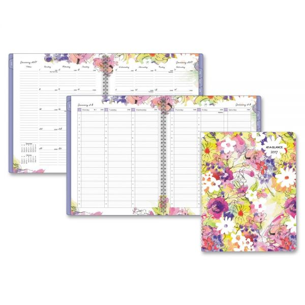 At-A-Glance Secret Garden Weekly/Monthly Apptmt Book