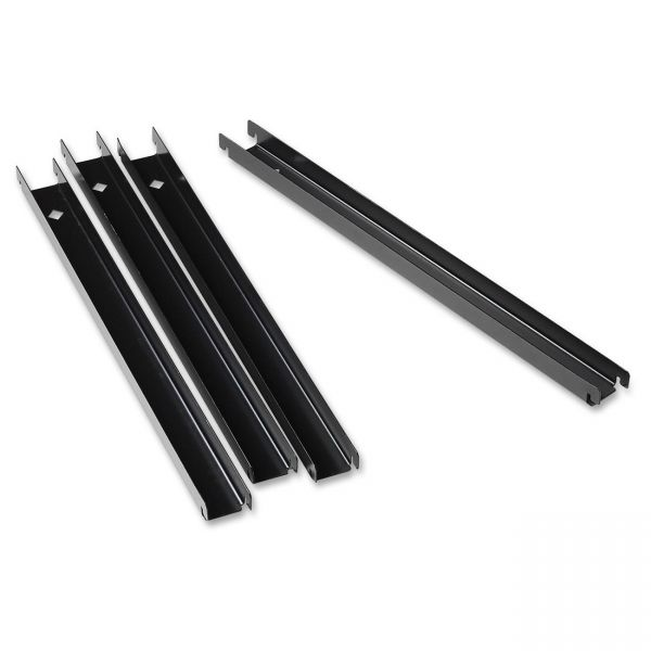 Lorell Lateral File Front-to-back Rail Kit