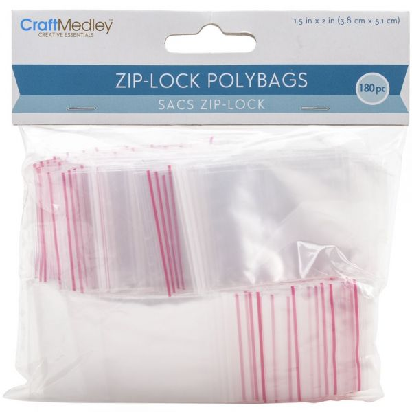 Ziplock Polybags 180/Pkg
