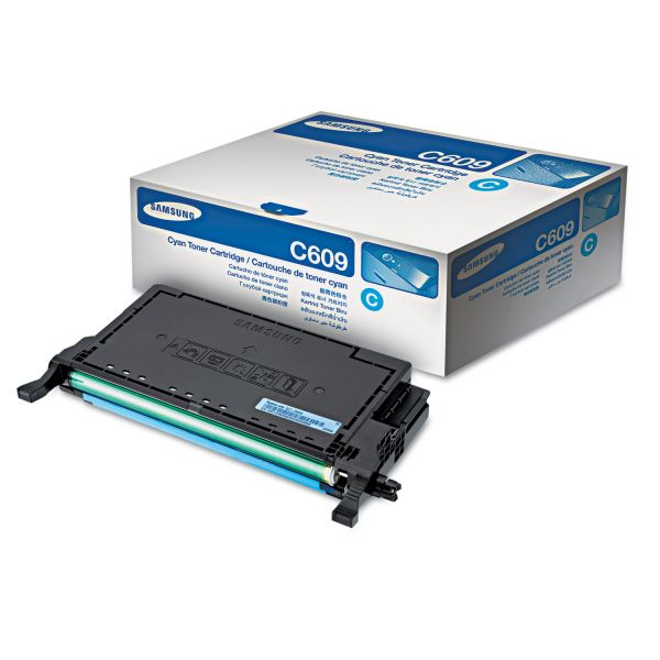 Samsung C609 Cyan High Yield Toner Cartridge