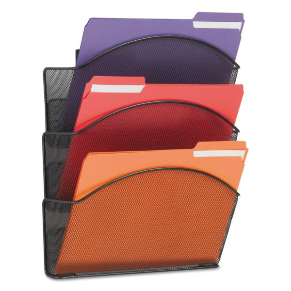 Safco Onyx Mesh Hanging Wall File Pockets