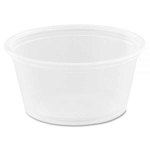 Dart 2 oz Plastic Portion Cups