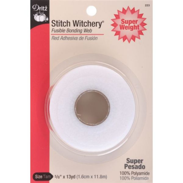 Stitch Witchery Fusible Bonding Web Super Weight