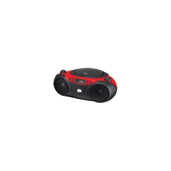 GPX BC232R Radio/CD Player Boombox