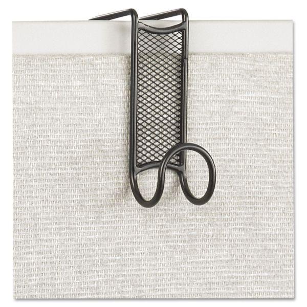 Safco Onyx Panel/Door Coat Hook, Steel