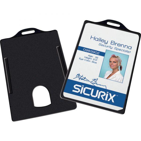 Baumgartens Vertical ID Card Holders
