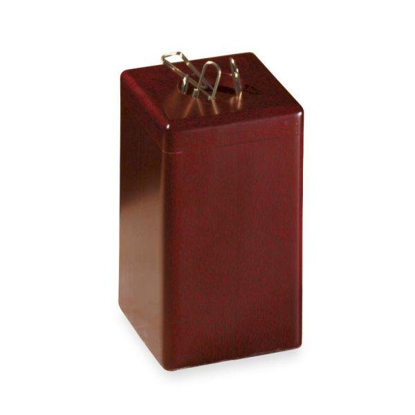 Rolodex Wood Tones Paper Clip Holder