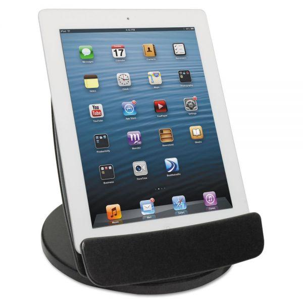 Kantek Rotating Desktop Tablet Stand, Black