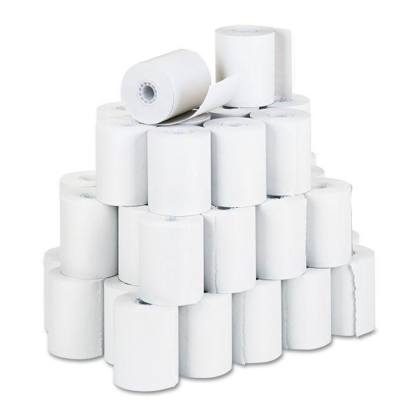 "PM Company Receipt Rolls, 3 1/4"" x 150 ft, White, 50/Carton"