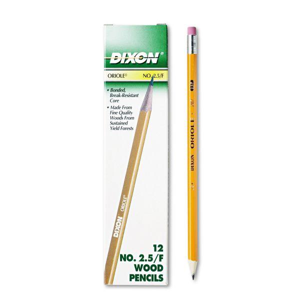 Dixon Oriole #2.5 Wood Pencils