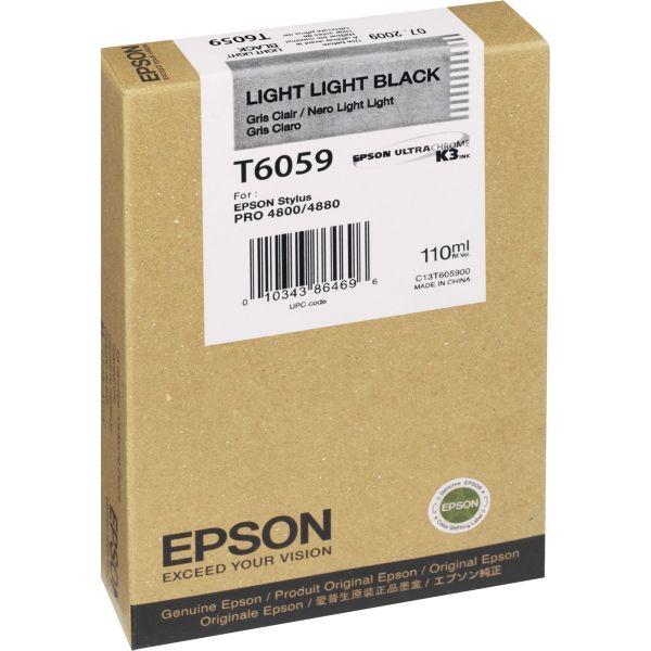 Epson T6059 Light Light Black Ink Cartridge (T605900)