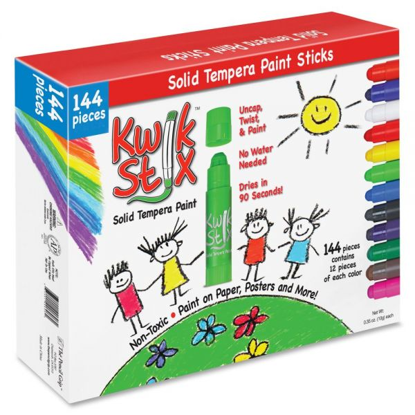 The Pencil Grip Pencil Grip Kwik Stix 144-pc Tempera Paint Sticks