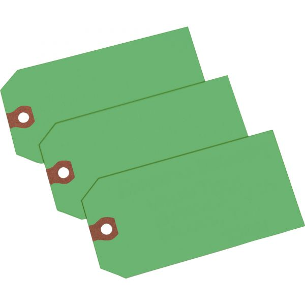 Avery Unstrung Shipping Tags, Paper, 4 3/4 x 2 3/8, Green, 1,000/Box