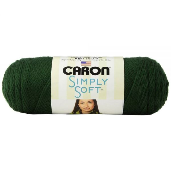Caron Simply Soft Yarn - Dark Sage