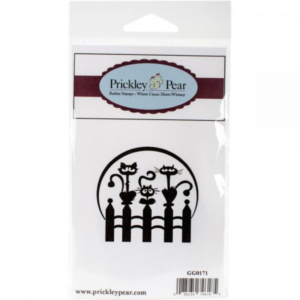 """Prickley Pear Cling Stamps 2.25""""x2.25"""""""