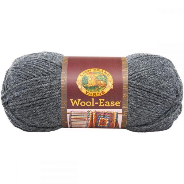 Lion Brand Wool-Ease Yarn - Oxford Gray