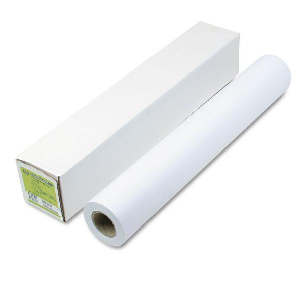 "HP Designjet Universal Wide Format Bond Paper, 21 lbs., 4.2 mil, 24"" x150 ft., White"