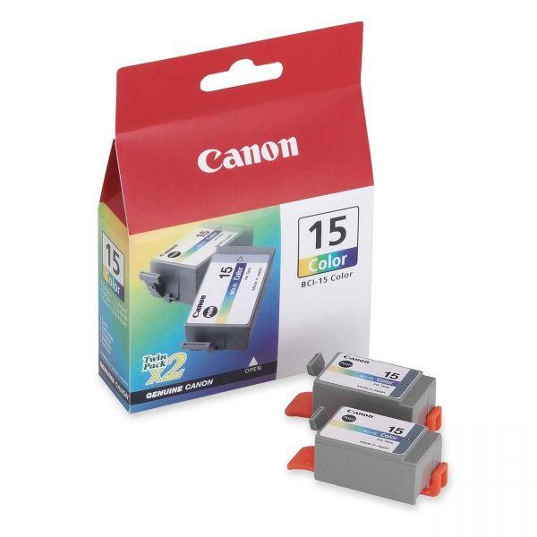 Canon BCI-15 Color Ink Cartridges (8191A003)