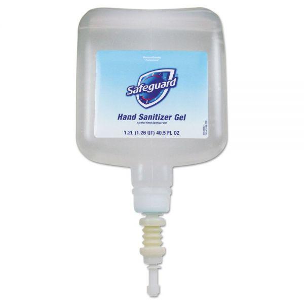 Safeguard Antibacterial Hand Sanitizer Gel, 1200 ml Refill, 4/Carton