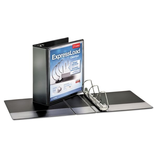 "Cardinal ExpressLoad 3"" 3-Ring View Binder"