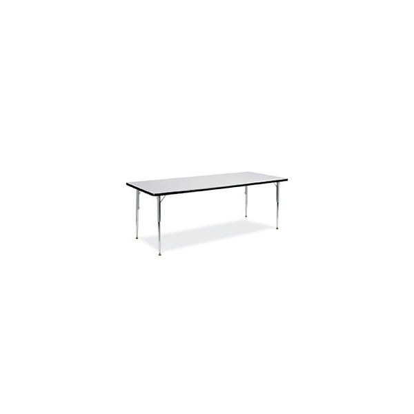 4000 Series Height Adjustable Rectangular Activity Table