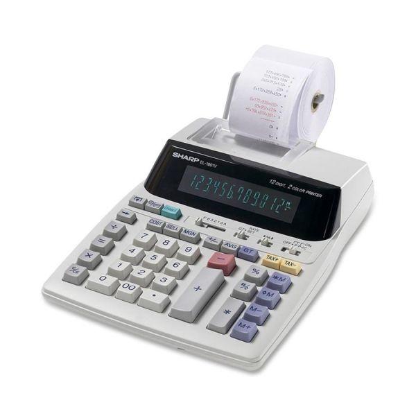Sharp Calculators Sharp EL1801V Serial Printer Calculator