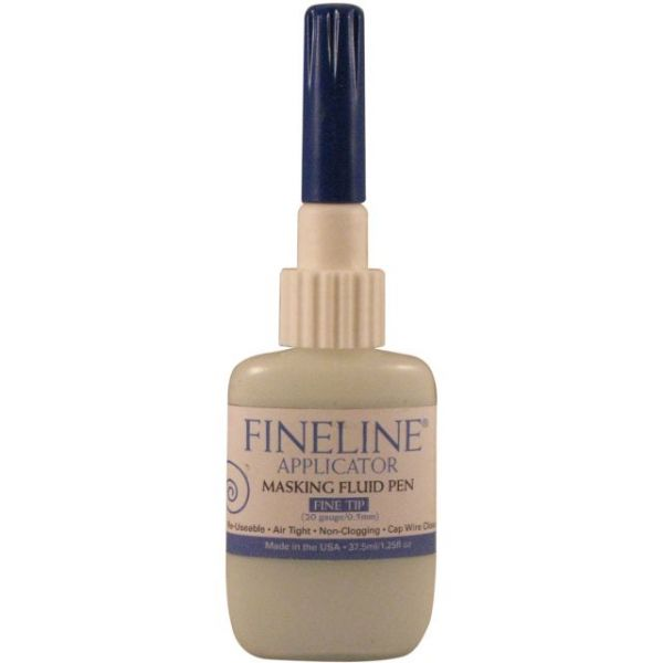 Fineline 20 Gauge Applicator & Bottle W/Masking Fluid
