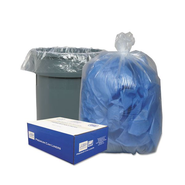 Webster Clear Linear 56 Gallon Trash Bags