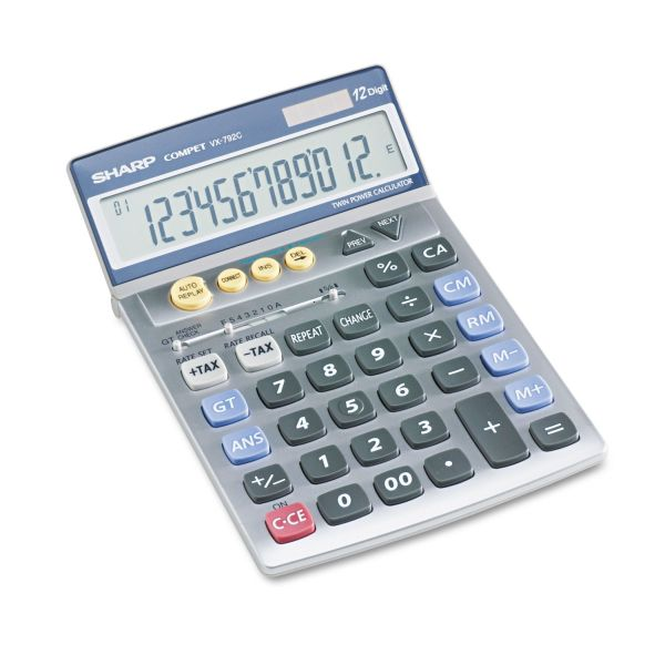 Sharp Calculators VX792C Desktop Calculator