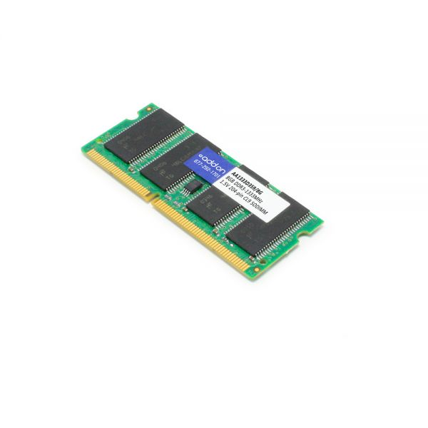 JEDEC Standard 8GB DDR3-1333MHz Unbuffered Dual Rank 1.5V 204-pin CL9 SODIMM